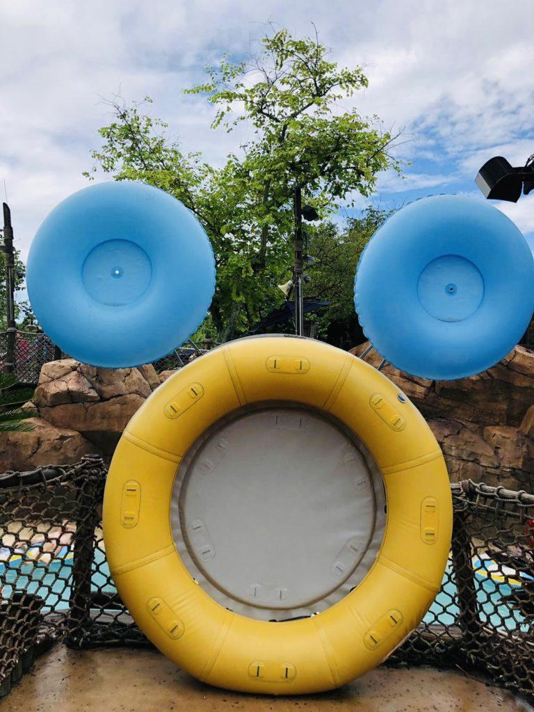 Hidden Mickey  Typhon Lagoon