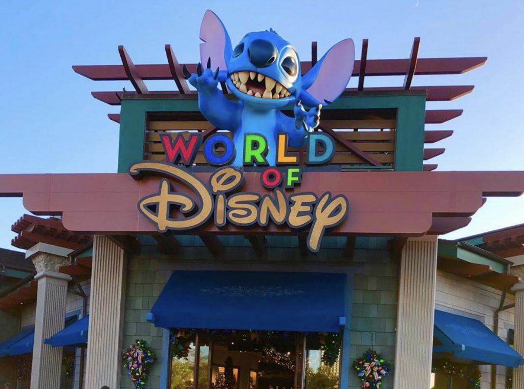 A maior loja da Disney