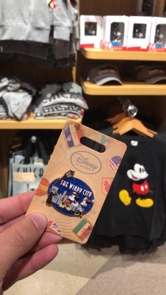 Pin Loja da Disney Chicago